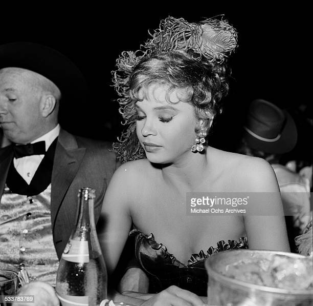 Dancer Juliet Prowse attends an event in Los AngelesCA