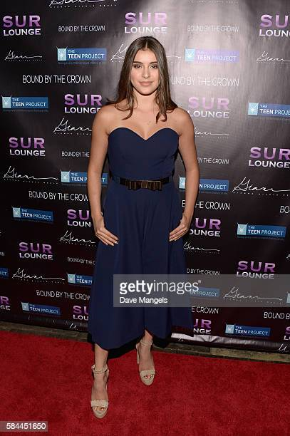 Dancer Kalani Hilliker attends Teen Project LA's 2016 Teen Dream at Sur Restaurant on July 28 2016 in Los Angeles California