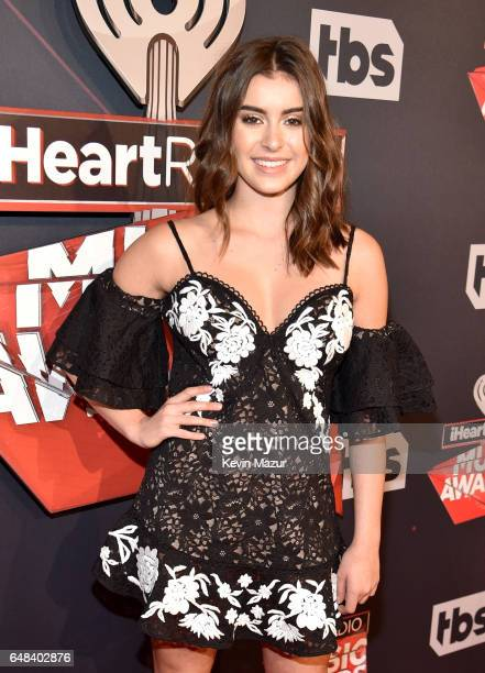 Dancer Kalani Hilliker attends the 2017 iHeartRadio Music Awards which broadcast live on Turner's TBS TNT and truTV at The Forum on March 5 2017 in...