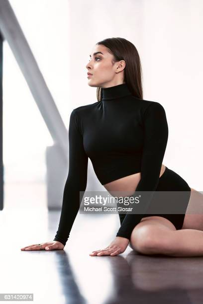 Dancer Kalani Hilliker is photographed on May 23 in New York City