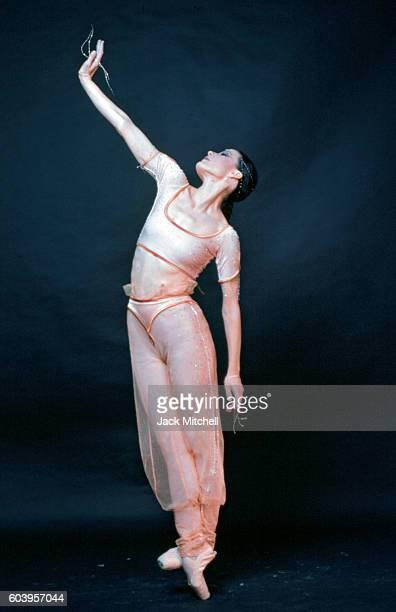 Dancer Karen Kain photographed in 1986.