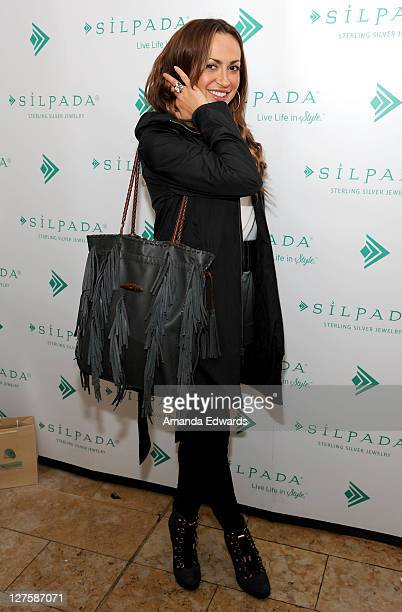 Dancer Karina Smirnoff attends Silpada at Kari Feinstein's Academy Awards Style Lounge at Montage Beverly Hills on February 25 2011 in Beverly Hills...
