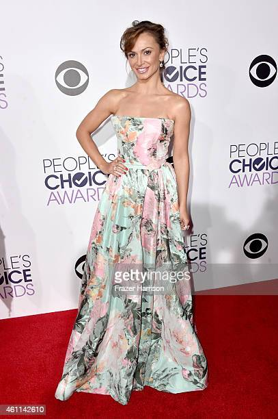 Dancer Karina Smirnoff attends The 41st Annual People's Choice Awards at Nokia Theatre LA Live on January 7 2015 in Los Angeles California