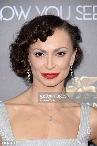 Dancer Karina Smirnoff attends the Now You See Me 2 world premiere at AMC Loews Lincoln Square 13 theater on June 6 2016 in New York City