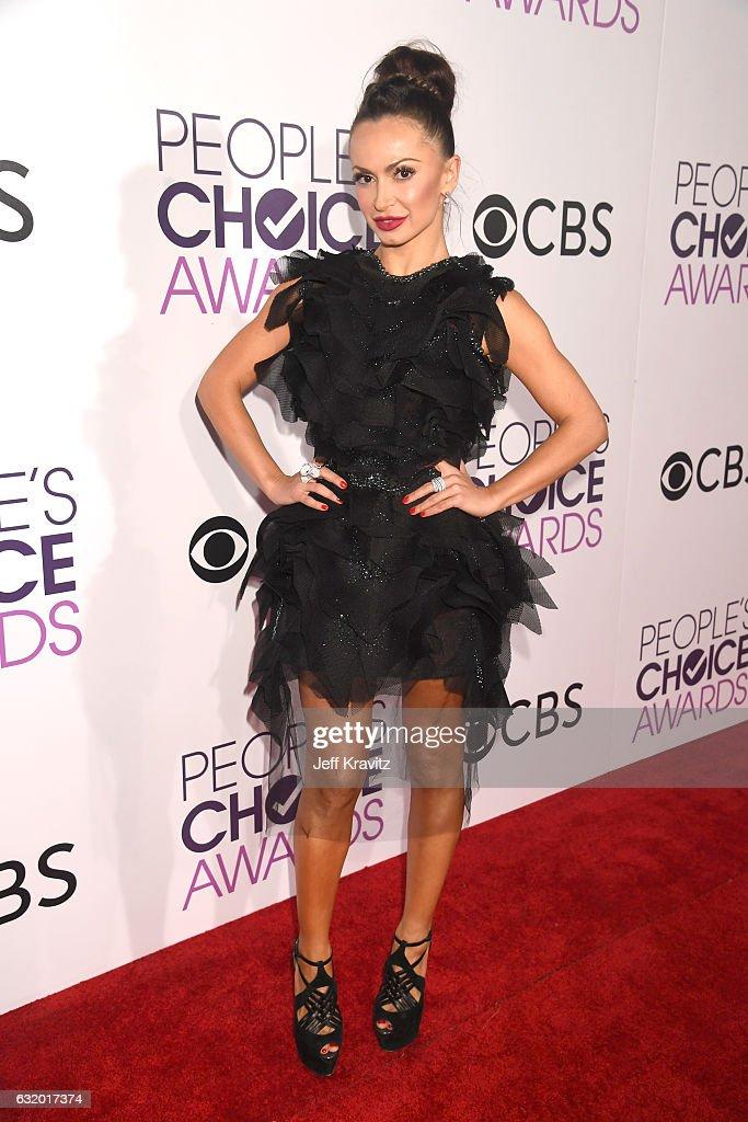 Dancer Karina Smirnoff attends the People's Choice Awards 2017 at Microsoft Theater on January 18, 2017 in Los Angeles, California.