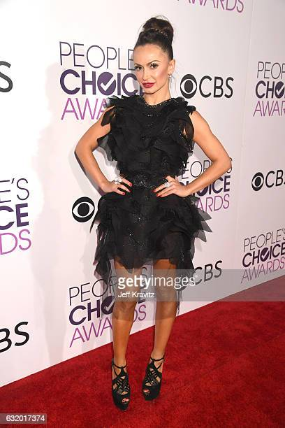 Dancer Karina Smirnoff attends the People's Choice Awards 2017 at Microsoft Theater on January 18 2017 in Los Angeles California