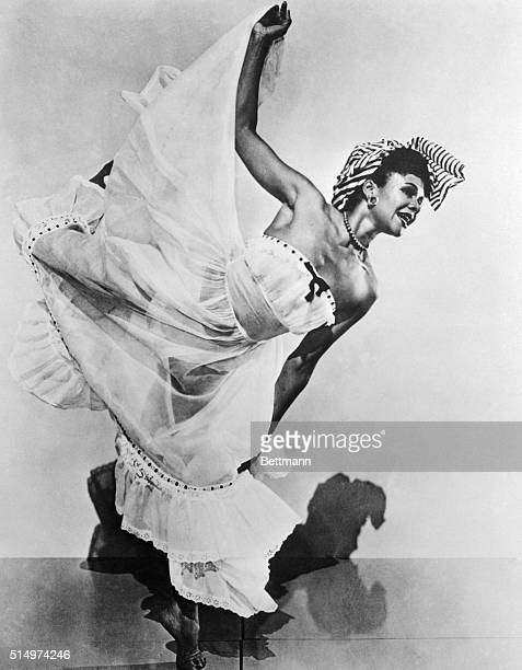 Dancer Katherine Dunham