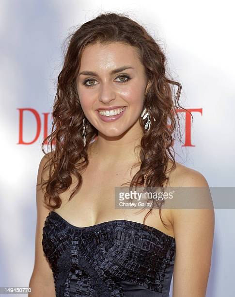 Dancer Kathryn McCormick attends the 2nd Annual Dizzy Feet Foundation's Celebration of Dance Gala at Dorothy Chandler Pavilion on July 28 2012 in Los...