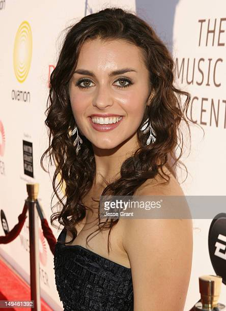 "Dancer Kathryn McCormick attends the Dizzy Feet Foundation Second ""Celebration of Dance"" Gala at the Dorothy Chandler Pavilion on July 28, 2012 in..."