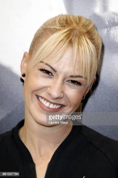 Dancer Katrina Patchett attends Le Coq Sportif x Guerlain at Le Coq Sportif Flagship on May 31 2017 in Paris France