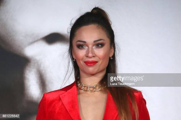 Dancer Katya Jones of Strictly Come Dancing attends the UK Premiere of Allied at Odeon Leicester Square on November 21 2016 in London England
