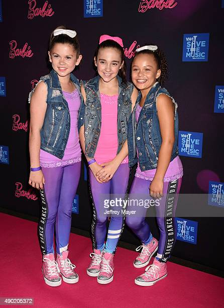 Dancer Kaycee Rice attends the Barbie Rock 'N Royals Concert Experience at the Hollywood Palladium on September 26 2015 in Los Angeles California