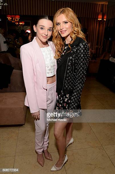 Dancer Kendall Vertes and actress Bella Thorne attend Miss Me and Cosmopolitan's Spring Campaign Launch Event Hosted by Bella Thorne at The Terrace...