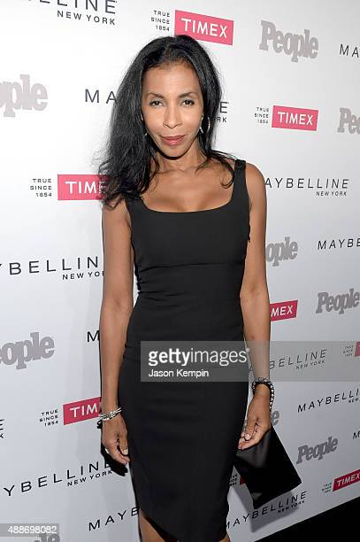 Dancer Khandi Alexander attends PEOPLE's Ones To Watch Event on September 16 2015 in West Hollywood California