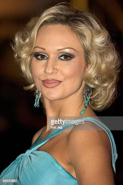 Dancer Kristina Rihanoff attends the opening of the new Ed Hardy store at Westfield on December 1, 2009 in London, England.