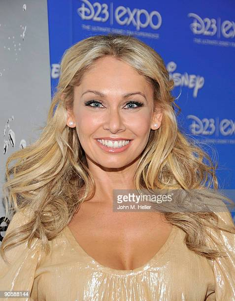 Dancer Kym Johnson attends the D23 Expo presented by the Walt Disney Studios at the Anaheim Convention Center on September 10 2009 in Anaheim...