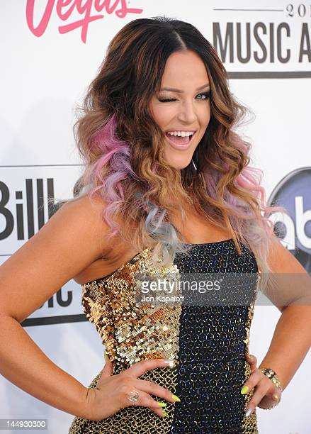 Dancer Lacey Schwimmer arrives at the 2012 Billboard Music Awards held at the MGM Grand Garden Arena on May 20 2012 in Las Vegas Nevada