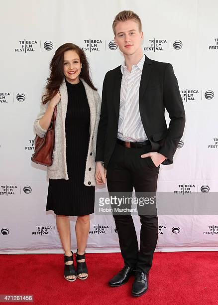 Dancer Lauren Lovette and Chase Finlay attend Tribeca Talks After The MovieLes Bosquets during the 2015 Tribeca Film Festival at SVA Theater on April...