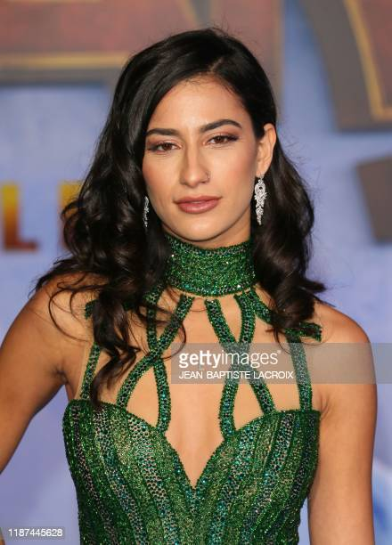 "Dancer Lexy Panterra arrives for the World Premiere of ""Jumanji: The Next Level"" at the TCL Chinese theatre in Hollywood on December 9, 2019."
