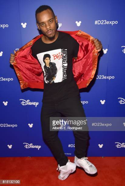 Dancer Lil Buck took part today in the Walt Disney Studios live action presentation at Disney's D23 EXPO 2017 in Anaheim Calif
