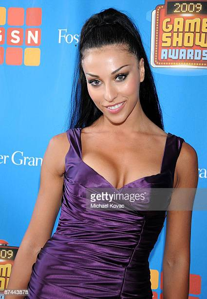 Dancer Lilit Avagyan arrives at the GSN's 1st Annual Game Show Awards at the Wilshire Theatre Beverly Hills on May 16 2009 in Beverly Hills California