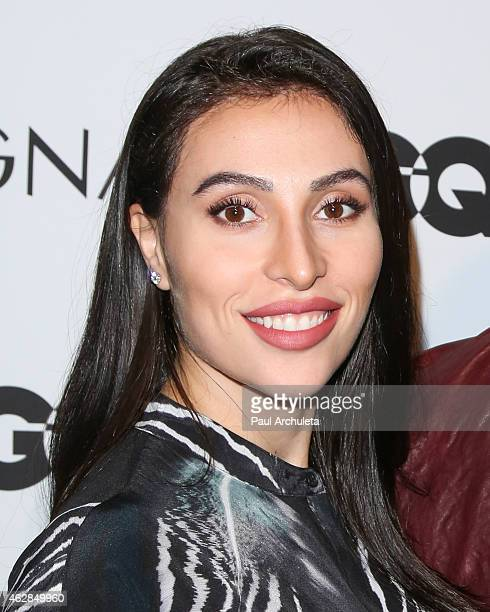 Dancer Lilit Avagyan attends the GQ and Z Zegna celebration on February 5 2015 in West Hollywood California