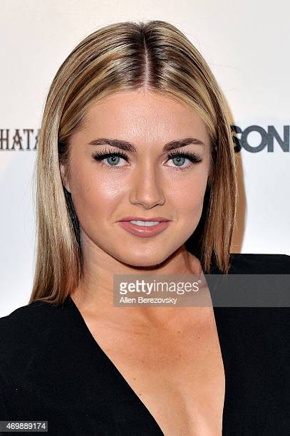 Dancer Lindsay Arnold attends Star Magazine's Hollywood Rocks Event with Jason Derulo at The Argyle on April 15 2015 in Hollywood California