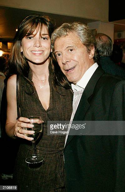Dancer Lionel Blair and daughter Lucy attend the party for the 30th anniversary performance of 'The Rocky Horror Picture Show' on June 23 2003 at...