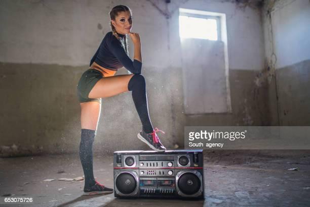 Dancer loves music