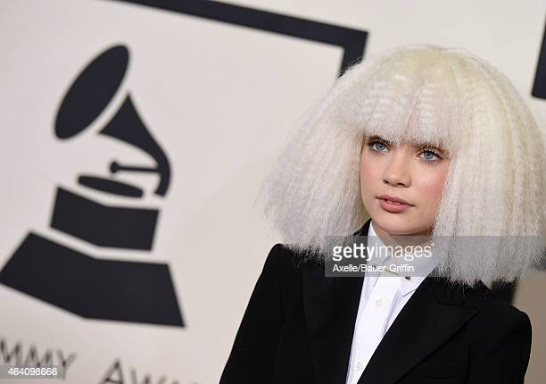Dancer Maddie Ziegler arrives at the 57th Annual GRAMMY Awards at Staples Center on February 8, 2015 in Los Angeles, California.