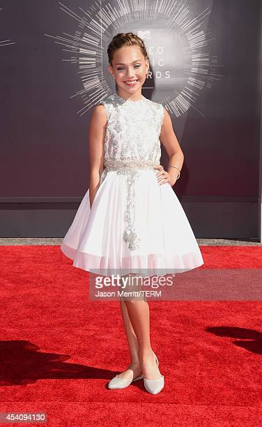 Dancer Maddie Ziegler attends the 2014 MTV Video Music Awards at The Forum on August 24 2014 in Inglewood California