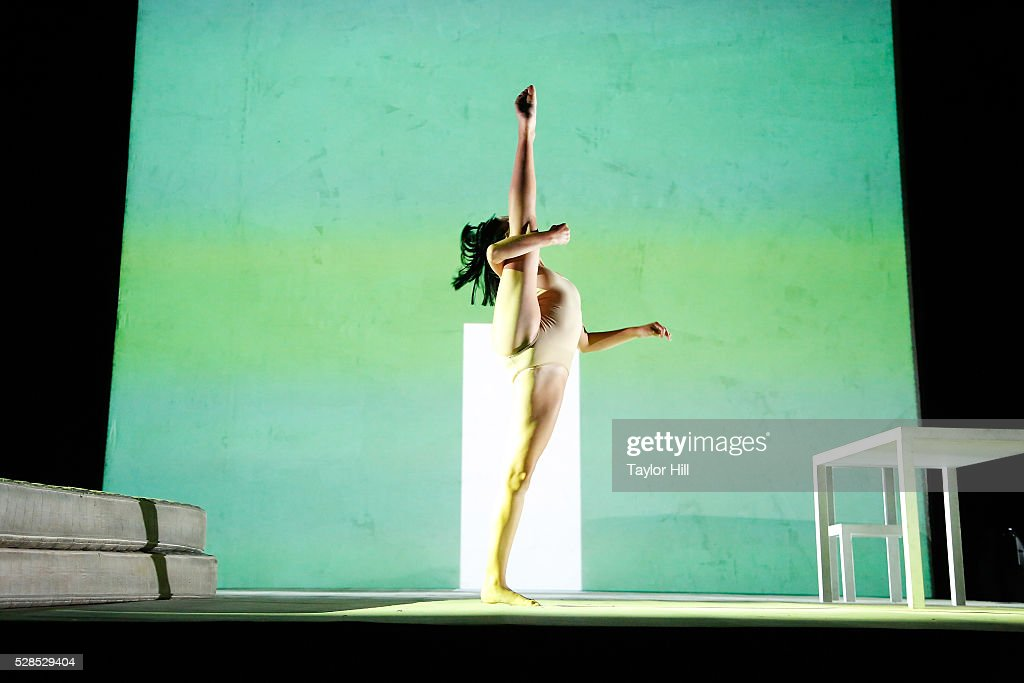 Dancer Maddie Ziegler performs to a song by Sia during