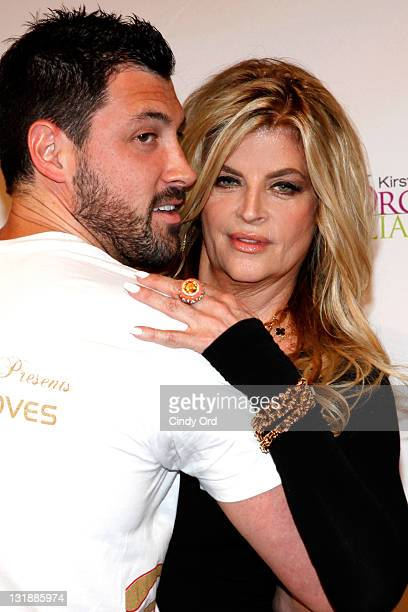Dancer Maksim Chmerkovskiy and actress Kirstie Alley attend the 2011 All The Right Moves Summer Invitational at the Manhattan Center Grand Ballroom...
