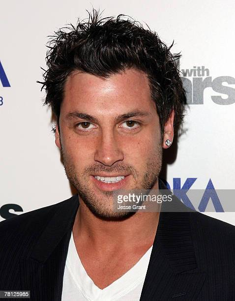 "Dancer Maksim Chmerkovskiy arrives at the ""Dancing With The Stars"" season finale after party sponsored by Svedka at The Day After night club on..."