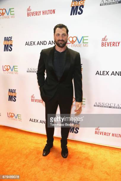 Dancer Maksim Chmerkovskiy attends the 24th Annual Race To Erase MS Gala at The Beverly Hilton Hotel on May 5 2017 in Beverly Hills California