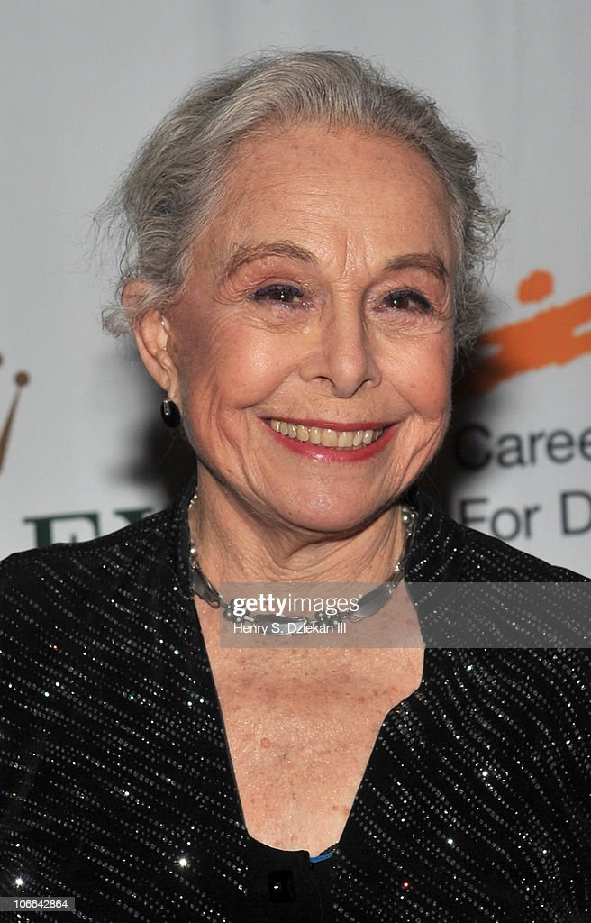 Dancer Marge Champion attends the Career Transition For Dancer's 25th anniversary Silver Jubilee anniversary supper at the Hilton New York on November 8, 2010 in New York City.