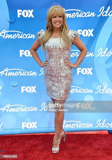 Dancer Mary Murphy attends Fox's American Idol 2013 Finale Results Show at Nokia Theatre LA Live on May 16 2013 in Los Angeles California