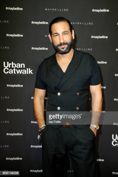 Dancer Massimo Sinato during the Maybelline Show 'Urban Catwalk Faces of New York' at Vollgutlager on January 18 2018 in Berlin Germany