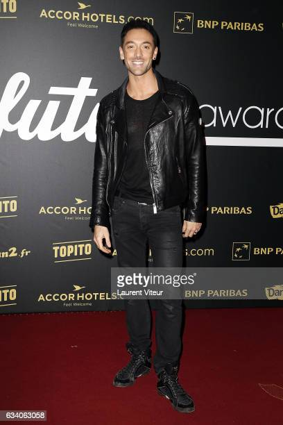 Dancer Maxime Dereymez from 'Danse avec les Stars' attends the '4th Melty Future Awards' at Le Grand Rex on February 6 2017 in Paris France