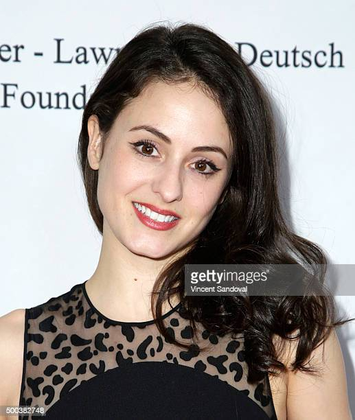 Dancer Melanie Hamrick attends the 75th Anniversary Holiday Benefit hosted by the American Ballet Theatre at The Beverly Hilton Hotel on December 7...