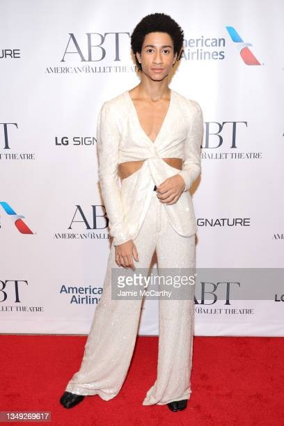 Dancer Melvin Lawovi attends the American Ballet Theatre's Fall Gala at David H. Koch Theater at Lincoln Center on October 26, 2021 in New York City.