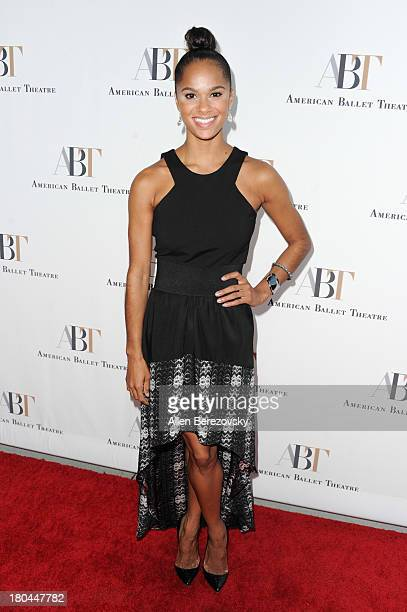 Dancer Misty Copeland attends American Ballet Theatre's annual 'Stars Under The Stars An Evening In Los Angeles' event on September 12 2013 in...