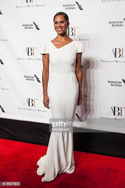 Dancer Misty Copeland attends the 2016 American Ballet Theatre Fall Gala at the David H Koch Theater at Lincoln Center on October 20 2016 in New York...