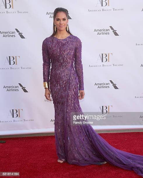 Dancer Misty Copeland attends the 2016 American Ballet Theatre Spring Gala at The Metropolitan Opera House on May 16 2016 in New York City