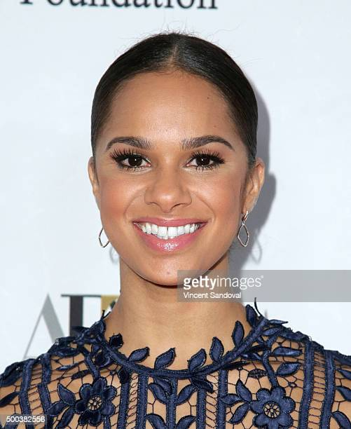 Dancer Misty Copeland attends the 75th Anniversary Holiday Benefit hosted by the American Ballet Theatre at The Beverly Hilton Hotel on December 7...