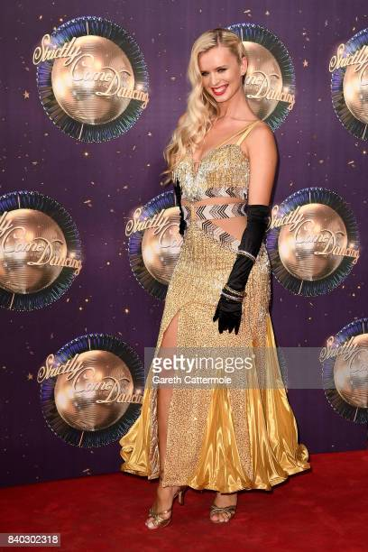 Dancer Nadiya Bychkova attends the 'Strictly Come Dancing 2017' red carpet launch at The Piazza on August 28 2017 in London England