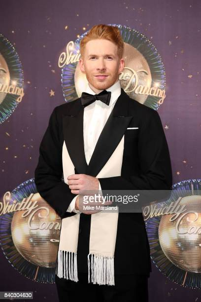 Dancer Neil Jones attends the 'Strictly Come Dancing 2017' red carpet launch at The Piazza on August 28 2017 in London England