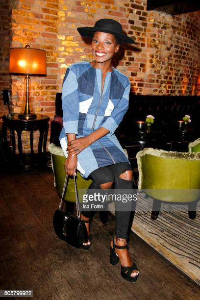 Dancer Nikeata Thompson during the host of Annabelle Mandengs Ladies Dinner at Hotel Zoo on July 2 2017 in Berlin Germany