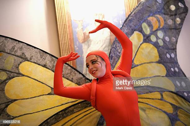 A dancer performs during the 8th Annual GO Campaign Gala at Montage Beverly Hills on November 12 2015 in Beverly Hills California