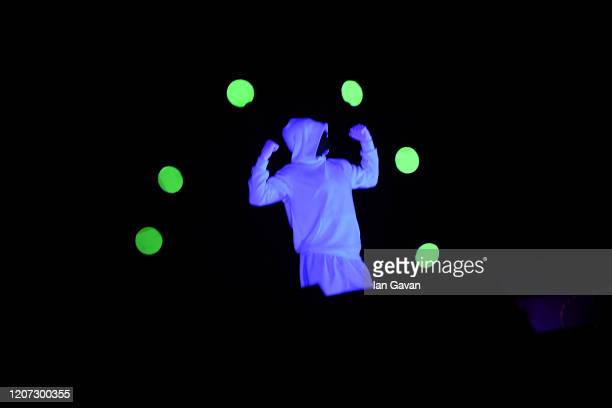 A dancer performs on stage during the 2020 Laureus World Sports Awards at Verti Music Hall on February 17 2020 in Berlin Germany